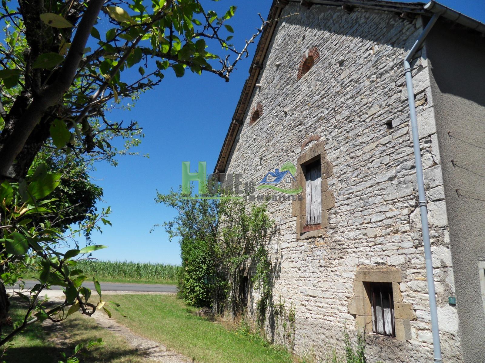 Vente maison villa corps de ferme r nov br cy avec beaucoup de potentie - Corps de ferme renove ...